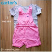 Jardineira Moranguinhos - Carter`s - 18 meses - Carter`s