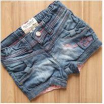Shorts Jeans Lilica Ripilica 12-16 meses - 12 a 18 meses - Lilica Ripilica