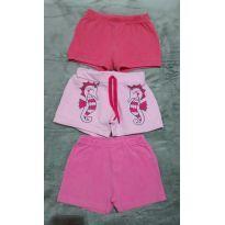 Kit shorts - 2 anos - Malwee