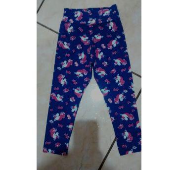 Calça legging Unicornios - 3 anos - Sem marca