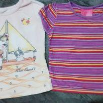 Kit 2 blusas fofa - 2 anos - Marisol e Boca Grande