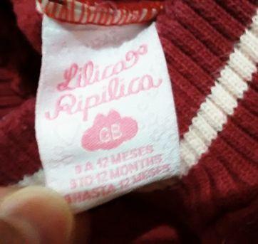 Calça moletom Lilica Ripilica - 1 ano - Lilica Ripilica