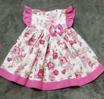 Vestido lindo floral - 2 anos - Sem marca