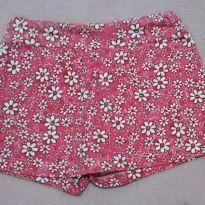 Short saia floridinho - 3 anos - Sem marca