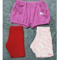 Kit 3 shorts Malwee e outros - 3 anos - Malwee  e outras