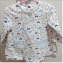 Blusa manga longa bata gatinhos - 1 ano - Little Me