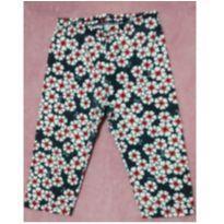 Calça legging Kyly floridinha - 2 anos - Kyly