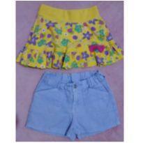 Kit shorts e saia da Malwee e Hering - 4 anos - Malwee e Hering