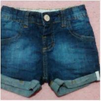 Shorts jeans barra dobradinha Up Baby - 2 anos - Up Baby