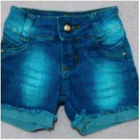 Bermudinha jeans barra desfiada - 3 anos - Riachuelo