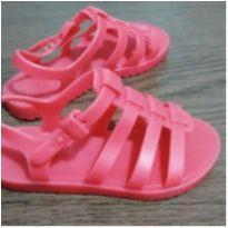 Sandalia rosa Grendene - 25 - Grendene