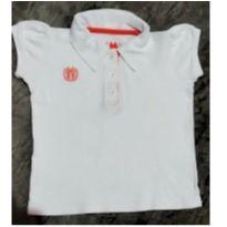 Blusa branca Polo Wear - 2 anos - Polo wear