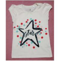 Blusa fashion Star - 4 anos - Girls