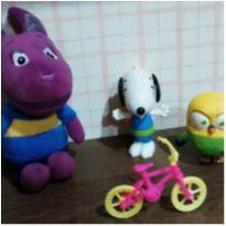 Kit brinquedinhos fofos -  - Backardigans