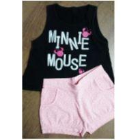 Conjuntinho minnie Mouse - 8 anos - Pulla Bulla e Disney