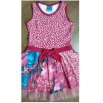 Vestido com tule da Mawee - 6 anos - Malwee