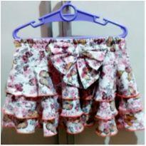 Saia borboletas babados - 6 anos - Girls