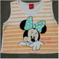Blusa croped Minnie - 6 anos - Disney