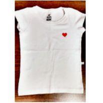 Blusa branca Hering - 4 anos - Hering Kids
