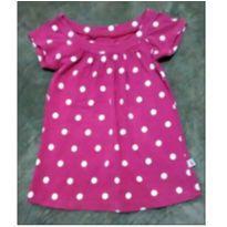 Blusinha pink poá - 4 anos - Marco Textil