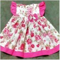 Vestido lindo floral - 2 anos - B & X