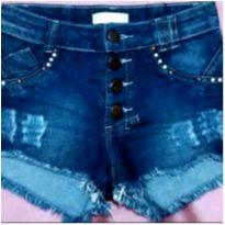 Shorts jeans fashion - 8 anos - C. Pitter