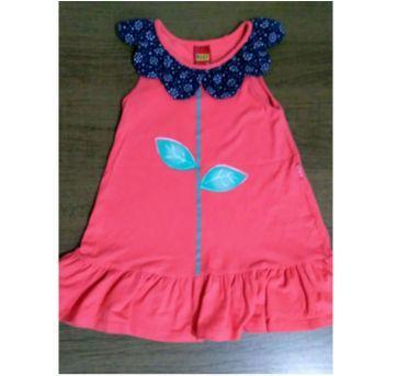 Vestido meigo flor - 3 anos - Kyly