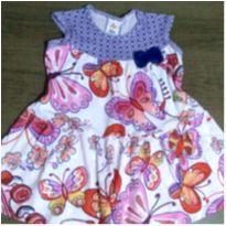 Vestido borboletas ZigZigZaa - 3 anos - Zig Zig Zaa