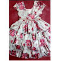Vestido maravihoso com pérolas - 4 anos - Giovanella
