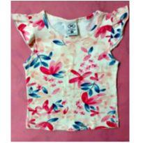 Blusinha Hering floral - 1 ano - Hering Baby