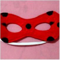 Mascara lady Bug de feltro - Nova