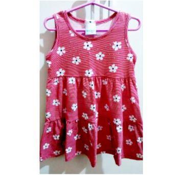 Vestido Malwee florzinhas - 3 anos - Malwee