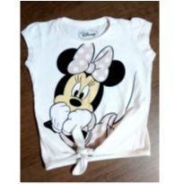 Blusinha charmosa da Minnie - 1 ano - Disney