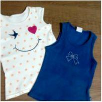 Dupla blusinhas fofas - 2 anos - Elian