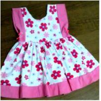 Vestidinho floridinho meigo - 1 ano - Rolú