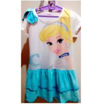 Vestido Cinderela - Doação - 6 anos - Disney