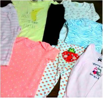 Lotinho bebe - 8 peças marcas boa - 18 meses - Carter`s e Zara Baby