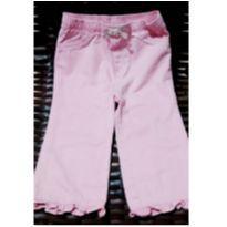 Calça rosa meiga - 18 meses - Jumping Beans