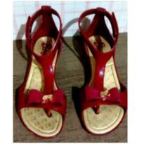 Sandalia da Barbie vermelha