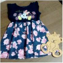 Vestidinho floral Minnie - 3 anos - Cativa