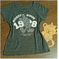 T shirt Mickey com pedrinhas - 6 anos - Disney