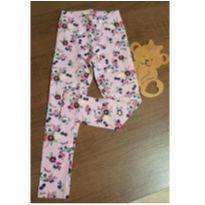 Calça rosa floral Kyly - 6 anos - Kyly