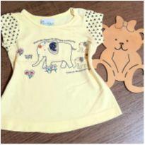 Blusa meiga elefantinho - 1 ano - Jaca lele