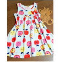 Vestido meigo maçazinhas - 4 anos - Kyly