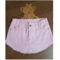 Saia shorts rosa estilosa - 8 anos - Crawling