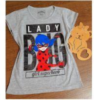 Blusinha Lady Bug - 8 anos - Miraculous
