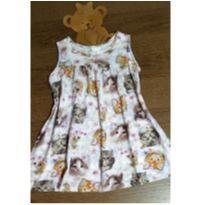 Vestidinho Malwee gatinhos - 3 anos - Malwee