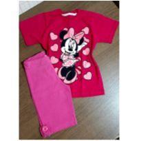 Conjuntinho fofo Minnie - 6 anos - Disney e CIC Malhas