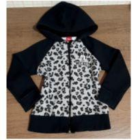 Jaqueta de moletom charmosa Mickey animal print - 4 anos - Disney