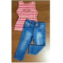 Look Lilica Baby - 1 ano - Lilica Ripilica e Jeans